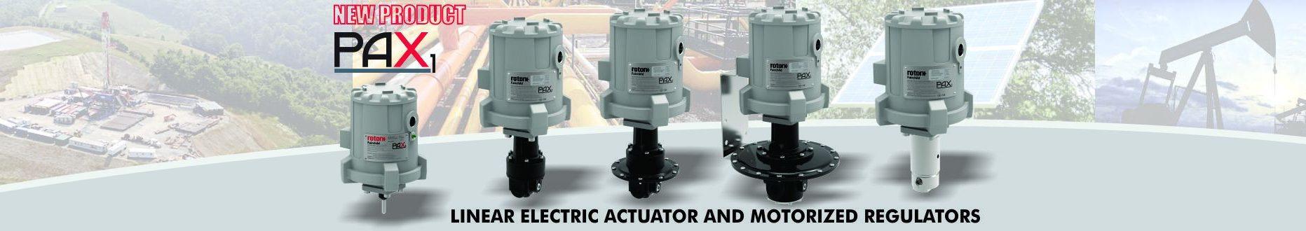 PAX1 Linear Electric Actuator and Motorized Regulator