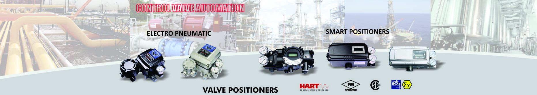 Valve Positioner (YTC), YT-3300 and YT-3400